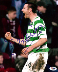 Stephen McManus Autographed 8x10 Photo Celtic PSA/DNA #U54960
