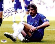 Alessandro Pistone Autographed 8x10 Photo Everton PSA/DNA #U54991