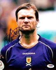 Steven Pressley Autographed 8x10 Photo Scotland PSA/DNA #U54992