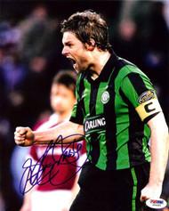 Steven Pressley Autographed 8x10 Photo Scotland PSA/DNA #U54993