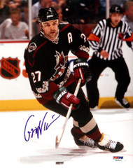 Teppo Numminen Autographed 8x10 Photo Phoenix Coyotes PSA/DNA #U58967