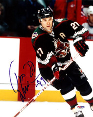 Teppo Numminen Autographed 8x10 Photo Phoenix Coyotes PSA/DNA #U58968