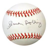Jack Bolling Autographed NL Baseball Brooklyn Dodgers PSA/DNA #U58683