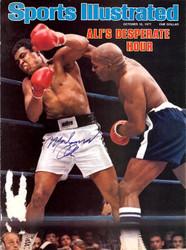 Muhammad Ali Autographed Sports Illustrated Magazine Cover JSA #X79657