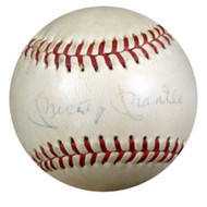 Mickey Mantle Autographed AL Cronin Baseball New York Yankees Vintage Playing Days Signature PSA/DNA #P08865