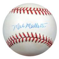 Mal Mallette Autographed NL Baseball Brooklyn Dodgers PSA/DNA #Q36821