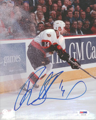 Radek Bonk Autographed 8x10 Photo Ottawa Senators PSA/DNA #U96128