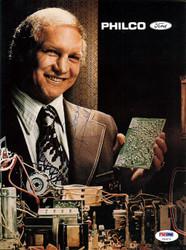 Bobby Hull Autographed Magazine Page Photo PSA/DNA #U93676