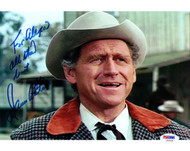 James Whitmore Autographed 8x10 Photo Big Valley PSA/DNA #U94836