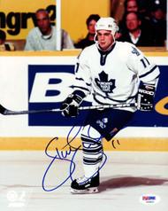 Steve Sullivan Autographed 8x10 Photo Toronto Maple Leafs PSA/DNA #U94891