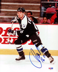 Darcy Tucker Autographed 8x10 Photo Tampa Bay Lightning PSA/DNA #U96973