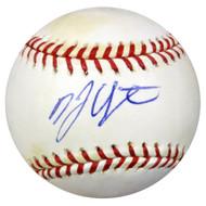 B.J. Upton Autographed MLB Baseball Rays, Braves PSA/DNA #U93312