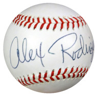 "Alex Rodriguez Autographed Wilson FSL Baseball Mariners, Yankees ""6/17/93"" PSA/DNA #S02837"