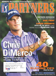 Chris DiMarco Autographed 2006 PGA Tour Partners Magazine PSA/DNA #K86019