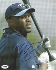 Cliff Floyd Autographed 8x10 Photo Tampa Bay Devil Rays PSA/DNA #L32192