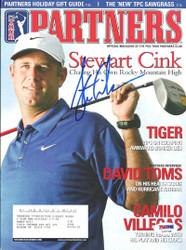 Stewart Cink Autographed 2006 PGA Partners Magazine PSA/DNA #L10839