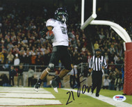 LaMichael James Autographed 8x10 Photo Oregon Ducks PSA/DNA #R79429