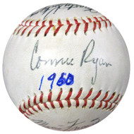 1958 Seattle Rainiers Autographed Baseball With 15 Signatures Including Connie Ryan & Bill Kennedy PSA/DNA #T00383