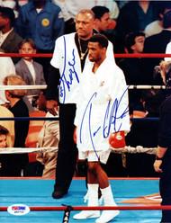 Joe Frazier & 1 Other Autographed 8x10 Photo PSA/DNA #Q95716