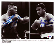 Mike Tyson & Alex Stewart Autographed 8x10 Photo PSA/DNA #Q95717