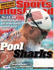 "Megan Quann Autographed Sports Illustrated Magazine ""USA"" PSA/DNA #X23425"