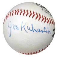 Joseph Joe Kuharich Autographed NL Giles Baseball Notre Dame Fighting Irish PSA/DNA #W05063
