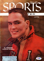 Al Wiggins Autographed Sports Illustrated Magazine PSA/DNA #X65492
