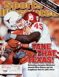 Chris Simms Autographed Sports Illustrated Magazine Texas Longhorns PSA/DNA #X65634