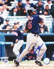 Christian Guzman Autographed 8x10 Photo Minnesota Twins PSA/DNA #Q88624