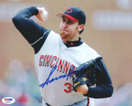 Aaron Harang Autographed 8x10 Photo Cincinnati Reds PSA/DNA #Q88695