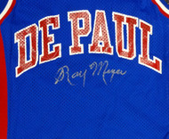 Ray Meyer Autographed DePaul Blue Demons Jersey PSA/DNA #Y30327