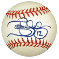 Terrence Long Autographed MLB Baseball Oakland A's PSA/DNA #Y30763