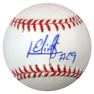 Roenis Elias Autographed Official MLB Baseball Seattle Mariners MCS Holo #43032
