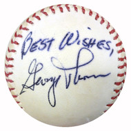 """George Thomas Autographed Baseball Boston Red Sox """"Best Wishes"""" PSA/DNA #Y29690"""