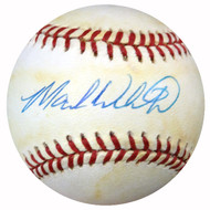 Mark Whiten Autographed AL Baseball Yankees, Cardinals PSA/DNA #Y29595