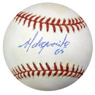 Adrian Hernandez Autographed AL Baseball Yankees, Brewers PSA/DNA #Z33324