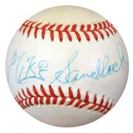 Mike Sandlock Autographed NL Baseball Brooklyn Dodgers PSA/DNA #Z33299