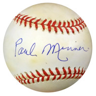 Paul Minner Autographed NL Baseball Brooklyn Dodgers PSA/DNA #Z33302