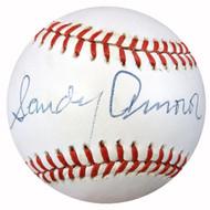 Sandy Amoros Autographed NL Baseball 1955 Brooklyn Dodgers PSA/DNA #Z32956