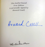 Howard Cosell Autographed First Edition Easton Press Book PSA/DNA #Z80302