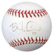 Ben Francisco Autographed MLB Baseball Indians, Phillies PSA/DNA #Z80110