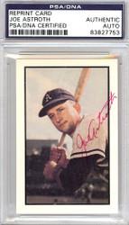 Joe Astroth Autographed 1953 Bowman Reprint Card #82 Philadelphia A's PSA/DNA #83827753