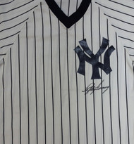 Lefty Gomez Autographed New York Yankees Jersey PSA/DNA #V09459