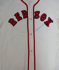 Billy Herman Autographed Boston Red Sox Jersey PSA/DNA #V11073