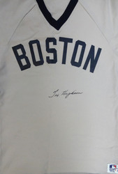 Tex Hughson Autographed Boston Red Sox Jersey PSA/DNA #W07517