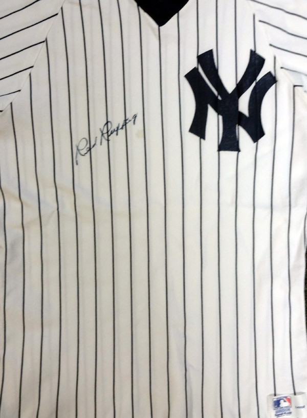 new product 0960c 2f192 Red Ruffing Autographed New York Yankees Jersey PSA/DNA #V11072