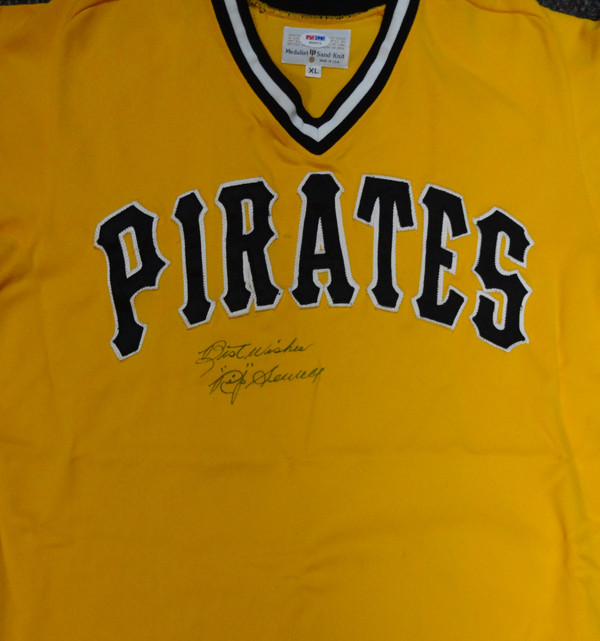 online store 7ddb1 4fc11 Rip Sewell Autographed Pittsburgh Pirates Jersey