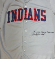"Stan Coveleski Autographed Cleveland Indians Jersey ""Baseball Hall Of Fame 1969"" PSA/DNA #W06975"