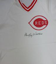 Bucky Walters Autographed Cincinnati Reds Jersey PSA/DNA #V11071
