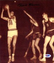 Bevo Francis Autographed 8x9.5 Photo Rio Grande College Red Storm PSA/DNA #AA38553